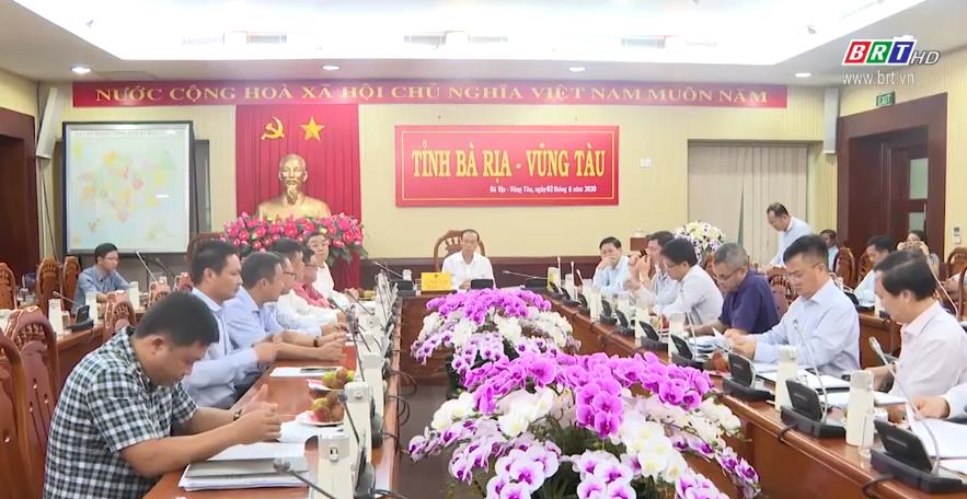 Thường trực UBND tỉnh BR-VT làm việc với Tập Đoàn Dầu khí Quốc gia Việt Nam