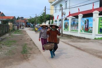 Thị xã Quảng Yên hoàn thành nhiệm vụ xây dựng nông thôn mới