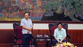 [PetrotimeTV]  Lãnh đạo PVN làm việc với lãnh đạo tỉnh Phú Thọ