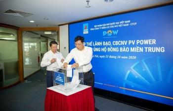 PV Power chung tay hướng về đồng bào miền Trung