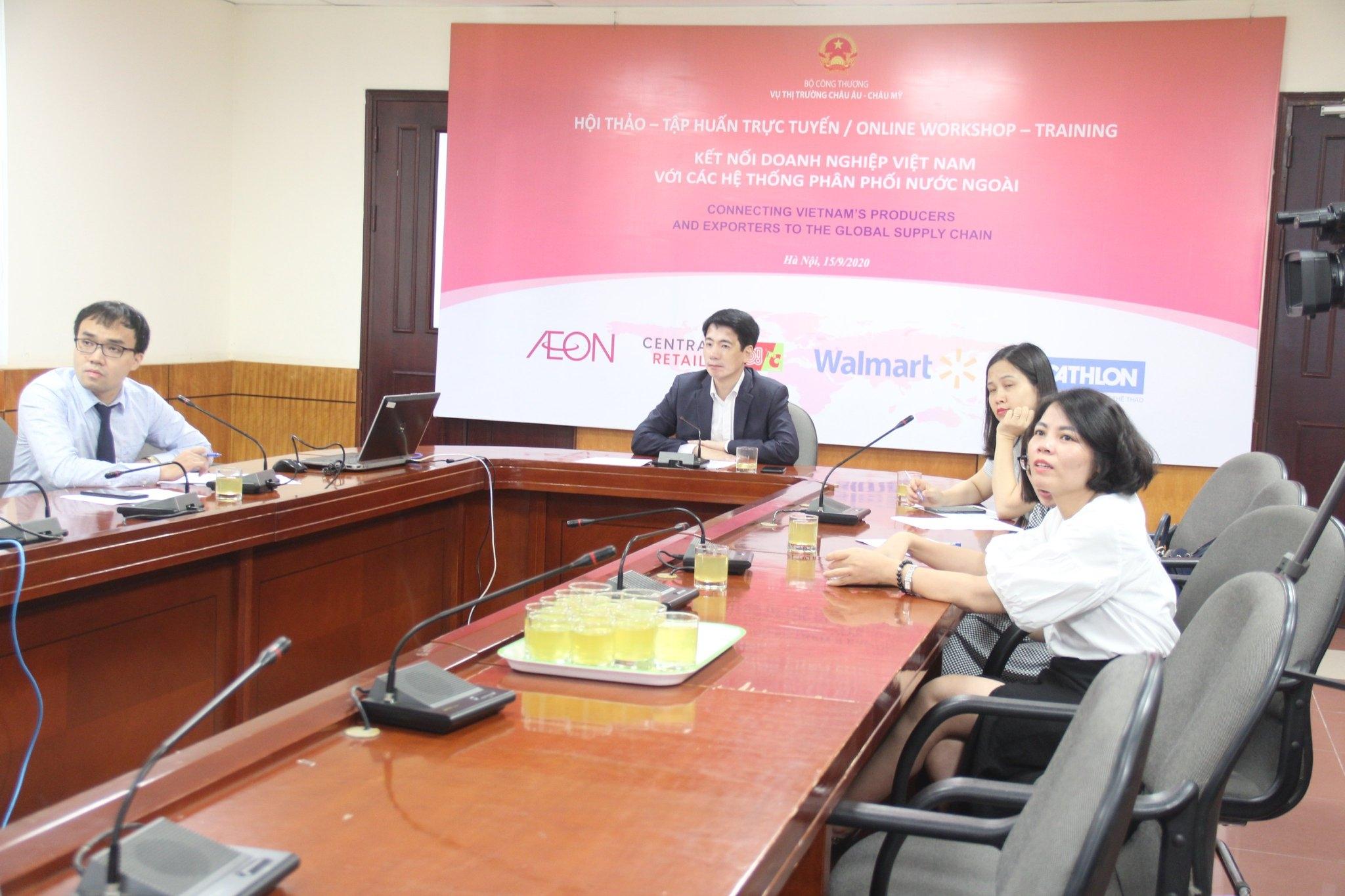 Đưa doanh nghiệp Việt tới gần thị trường quốc tế hơn