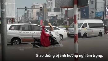 trieu cuong gay ngap duong vo de bao o can tho
