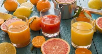 Những loại nước ép trái cây giải độc gan hiệu quả hàng đầu