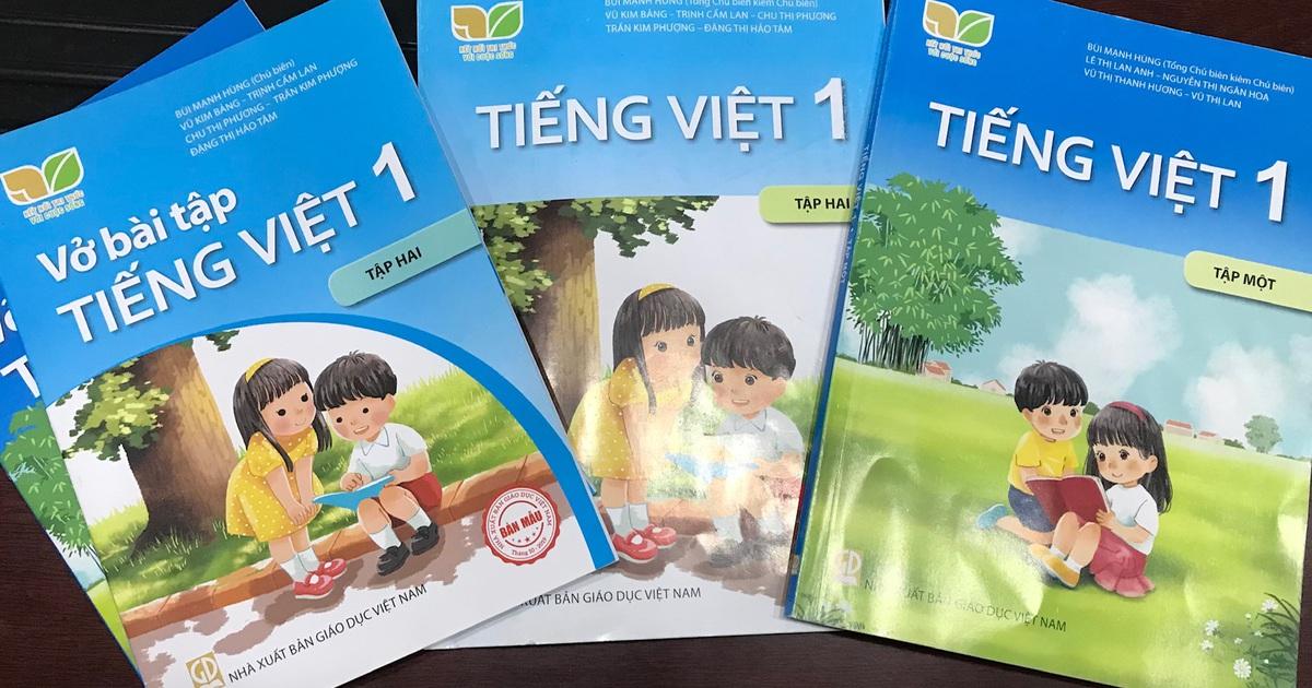 NXB Giáo dục rà soát lại toàn bộ SGK tiếng Việt lớp 1