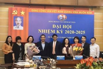 to chuc thanh cong dai hoi dang bo ban tai chinh ke toan nhiem ky 2020 2025
