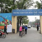 Hà Nội: Thí điểm dự án sân chơi tái chế và hệ thống năng lượng mặt trời tại TTVH phường Nghĩa Tân