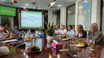 Lãnh đạo VPA làm việc tại Chi hội Dầu khí Nam Trung Bộ - Tây Nguyên