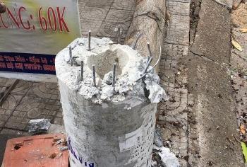 """Điện lực Đà Nẵng lý giải về bình luận cột điện """"không lõi thép"""""""