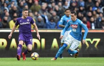 Link xem trực tiếp Napoli vs Fiorentina (Serie A), 2h45 ngày 19/1