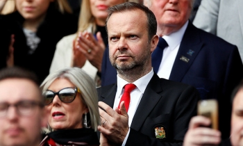 ed woodward ung ho liverpool vo dich