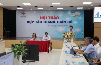 evncpc thuc day thanh toan so