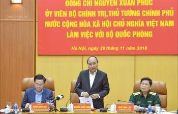 thu tuong luc luong quan doi phai ra suc de cao canh giac truoc moi am muu chong pha cua cac the luc thu dich