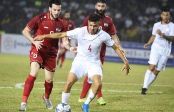 Link xem trực tiếp Syria vs Philippines (Vòng loại World Cup 2022), 21h ngày 19/11