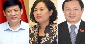 Quốc hội phê chuẩn bổ nhiệm nữ Thống đốc và 2 Bộ trưởng