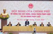 Thủ tướng: Xây dựng pháp luật là bệ đỡ cho đất nước phát triển bền vững