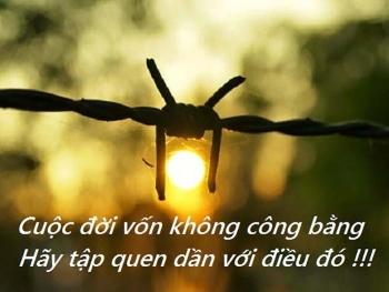cuoc doi von khong cong bang hay tap quen dan voi dieu do