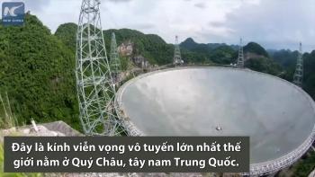 [VIDEO] Thành tựu của kính viễn vọng vô tuyến lớn nhất thế giới