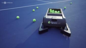 Máy nhặt bóng tennis tự động