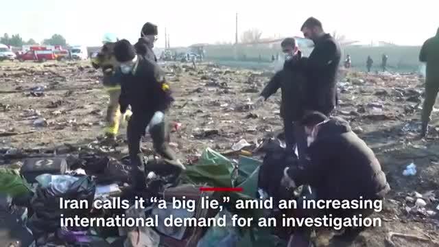 Giây phút máy bay chở 176 người nổ