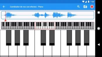 Ứng dụng Voice Changer với các giọng nói đã được xử lý theo từng tông giọng